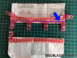 ルルロロ生地で作る移動ポケットの作り方