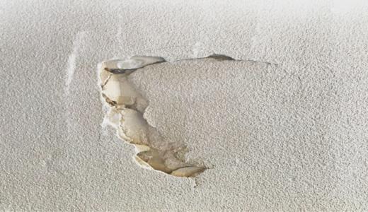 【漆喰DIY②】 和室の砂壁をリフォーム   〜穴の補修 〜