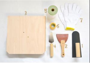 漆喰に必要な道具