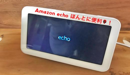 Amazon echo show5 を2か月使ってみた正直な感想。