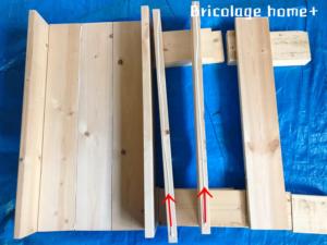 ラブリコと2×4で作るキッチンラック